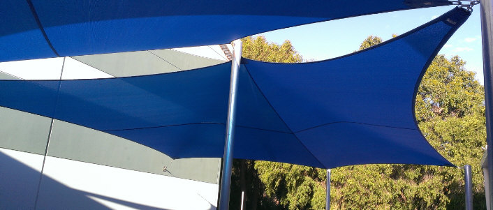 Multi shade sails image